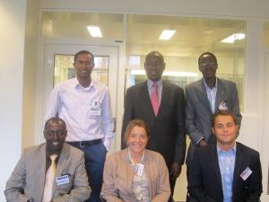 Rwanda Team meet GHN