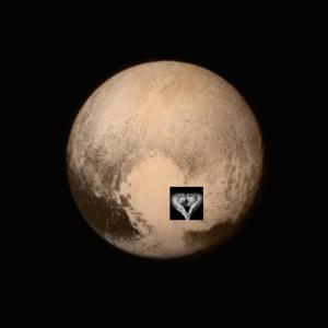 3 billion miles and Pluto's heart