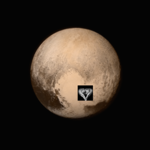 3 billion miles and Pluto's heart